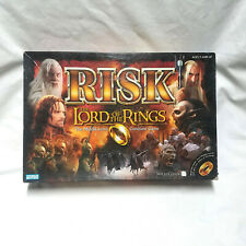 Risk Lord Of The Rings Middle-Earth Conquest Board Game Open Box Contents Sealed