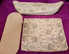 Moses Basket Pink Bedding Set