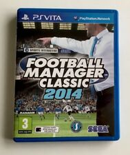 FOOTBALL MANAGER CLASSIC 2014 (UK EDITION) SONY PLAYSTATION PS VITA. FREE POST
