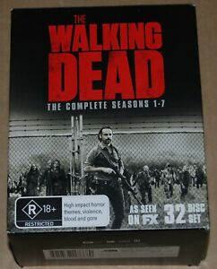 The Walking Dead Seasons 1-7  Box Set  Blu -Ray Discs