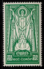 More details for ireland gvi sg123, 2s 6d emerald-green, m mint. cat £40. ordinary paper