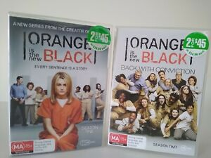 Orange Is The New Black - Seasons 1 & 2 - Region 4