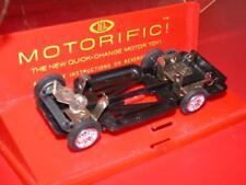 Vintage 1960's Ideal MOTORIFIC Racerific car SPOKED WHEEL CHASSIS Old Stock MIB