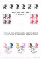 Document Officiel   1982 39   Republique Type Liberte  Yv N° 2239 A 2244