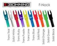 12 x Bohning BLAZER F-NOCK - Large Throat - Good alternative to Easton G Nock