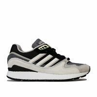 Mens adidas Originals Ultra Tech Trainers In Core Black/Crystal White- Leather