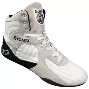 Otomix-The Stingray-Bodybuilding MMA Grappling Shoes-Size 11-White-NEW w/ Box