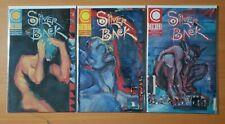 Silver Back 1-3 Complete Set Run! ~ NEAR MINT NM ~ 1989 Comico Comics Gendel