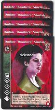 "Ondine ""Boudicca"" Sinclair x5 Toreador antitribu SoC"