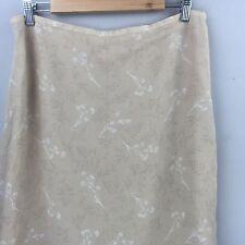 Women's Merona Skirt Silk Floral Large