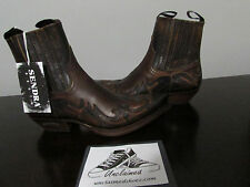 New Sendra Dale Western Style Cowboy Boots Style No. 4660 Brown Women size 8