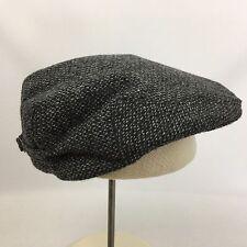 VTG Travler Country Gentleman Wool Flat Cap Hat Size 7 5/8 Cabbie Newsboy Tweeds