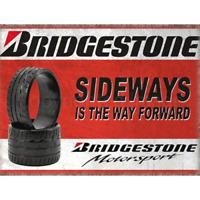 Bridgstone Tyres Retro Vintage Wall Sign Plaque Garage Workshop