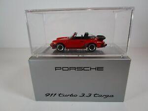1/43 Dealer Box - 911 930 Turbo 3.3 Targa (WAP02061017) Limited Edition of 300