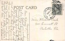 ST. PATRICK'S DAY HOLIDAY IRELAND SAUGUS CENTER MASSACHUSETTS DPO POSTCARD 545