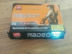 256MB ATI Radeon 9800XT AGP HDMI VGA ddr DVI Graphics Card tv-out new rare @@