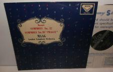 """SXL 2135 Mozart Symphonies Nos. 32 & 38 """"Prague"""" London Symphony Orch Peter Maag"""