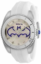 Invicta 29299 DC Comics Lady 38mm Stainless Steel White Dial Watch