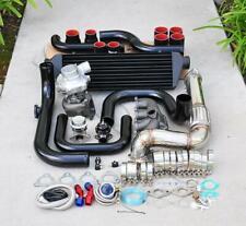 for Civic D15/16 Bolt-On Turbo Kit Black Intercooler Pipe RS bov Black coupler