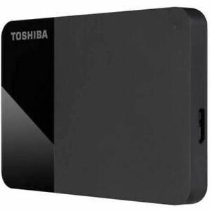 Toshiba Canvio Portable External Hard Disk Drive Storage - 1TB   2TB   4TB