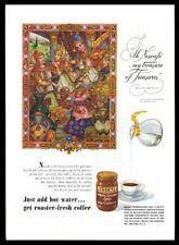 1946 Nescafe Coffee Arthur Szyk Croesus art vintage print ad