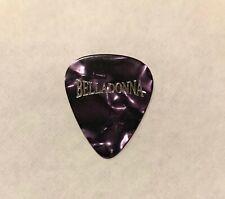 Joey Belladonna Al Romano 2010 Tour Guitar Pick Signature Anthrax Purple Marble