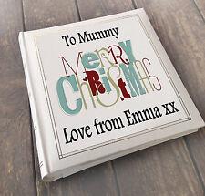 """Christmas Birthday Personalised large photo album 6x4"""" x 200, Mum Mummy present"""