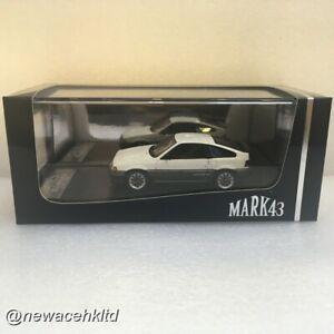Honda Ballade Sports CR-X Si (AS) White Mugen CF-48 Wheel Mark43 1/43 #PM4384SW