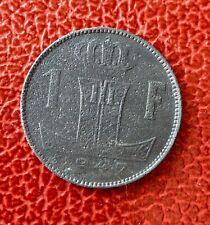 Belgique - Léopold III - Très Rare monnaie de 1 Franc 1947 VL