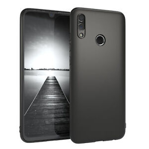 For Huawei Honor 10 Lite Case Silicone Cover Protection Case Matt Black