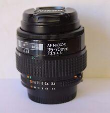 Nikon Zoom-Nikkor 35-70mm f/3.3-4.5 AF Lens