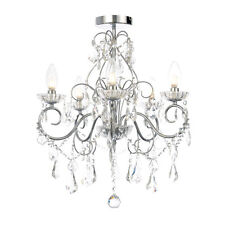 Forum Vela SPA-19713-CHR - 5 Light Bathroom Ceiling Light Chandelier