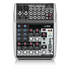 Behringer XENYX Q1002USB 10 Input 2 Bus USB Small Format Mixer Mixing Desk