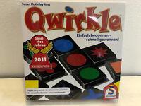 Qwirkle von Schmidt Spiel des Jahres 2011 in OVP Gesellschafts Familien Lege