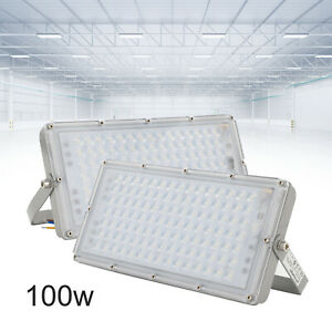 LED Floodlight 100W Outdoor Super Bright Security Waterproof Flood Light