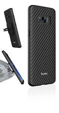 Evutec case AER Karbon KEVLAR + AFIX vent mount For Samsung Galaxy S8+ - Black