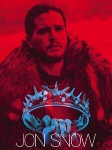 Jon Snow Poster Game of Thrones Art Print (18x24)