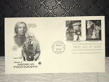 2002 AMERICAN PHOTOGRAPHY First Day Issue Postal Cover, Near Mint, ShipFree