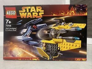 Lego Star Wars 7256 Jedi Star Fighter & Vulture Droid NEW - 2005 - See Pictures