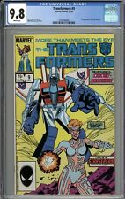Transformers #9 CGC 9.8 NM/MT 1st Appearance of Circuit Breaker WHITE PAGES