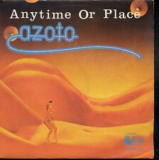 7inch AZOTO anytime or place HOLLAND 1981 RAMS HORN REC disco / electronic EX