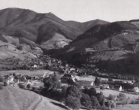 Münstertal im Schwarzwald - Ortsansicht - um 1950 - Selten