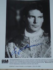 "Christopher Reeve signed 8x10 promo photo. from ""MORTAL SINS"""