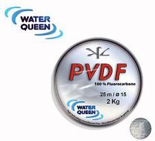 Fluorocarbone Water Quenn PVDF 0,30mm 6,400 kg 25m