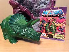 Vintage Mattel - Grayskull Masters of the Universe - Bionatops - MOTU Dinosaur