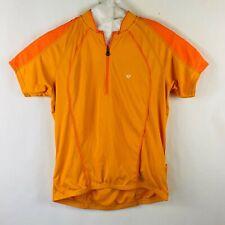Pearl Izumi Cycling Jersey Women's Size Large Orange