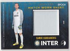 2016/17 Epoch Inter Milan Match Worn Shirt #5 Samir Handanovic 048/100