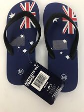 Australia Aussi Day Thongs Flag Flip Flops Medium Unisex Bellview