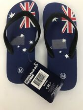 Australia Aussi Day Thongs Flag Flip Flops Large Unisex Bellview