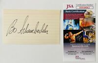 Bo Schembechler Signed Autographed 3x5 Card JSA Certified Michigan 2